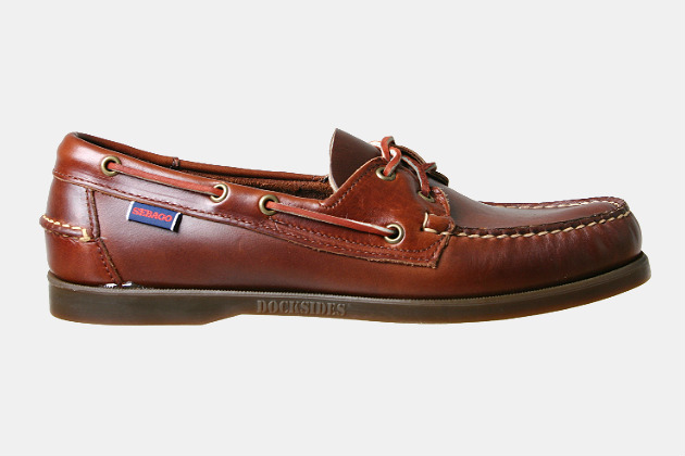 Sebago Docksides Leather Boat Shoes