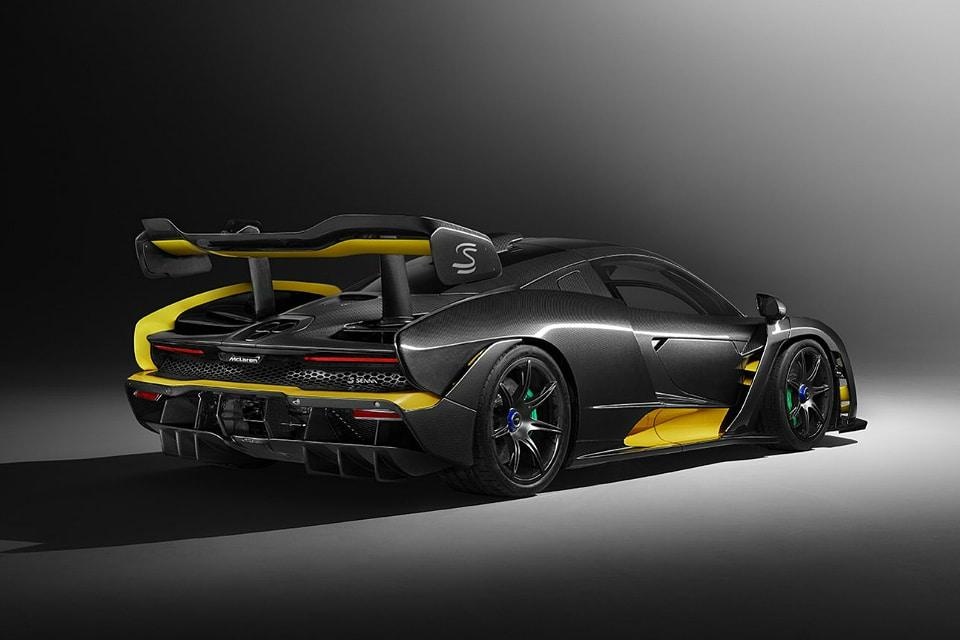 McLaren Senna Carbon Fiber Theme