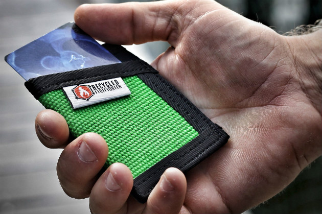 Sergeant Fire Hose Wallet Green