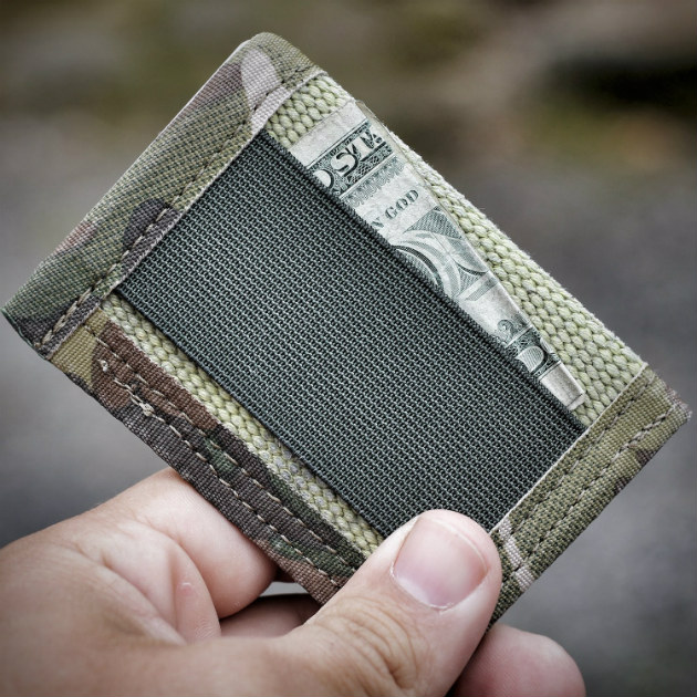 Sergeant Fire Hose Wallet Money Clip