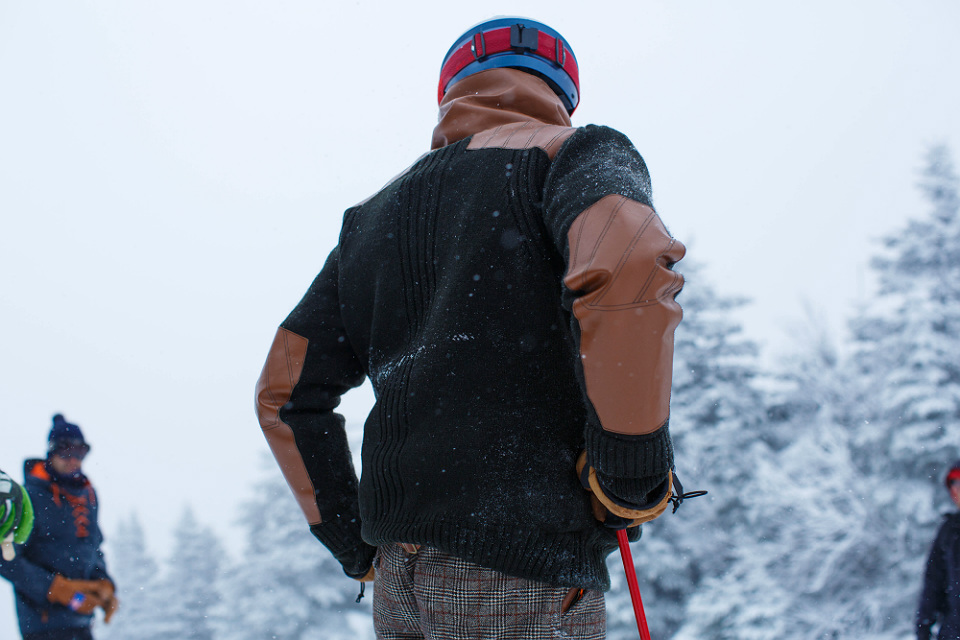 Alps & Meters Shawl Collar Jacket