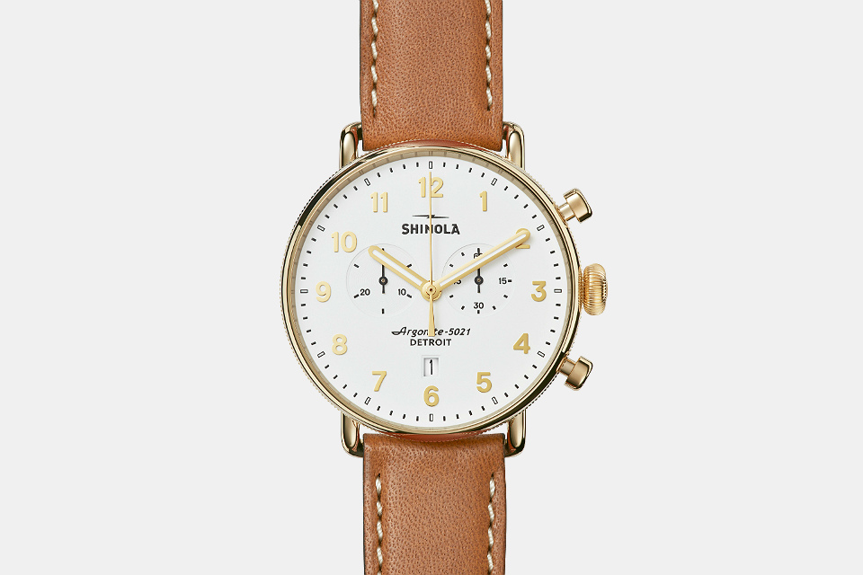 Shinola Canfield Chrono Watch