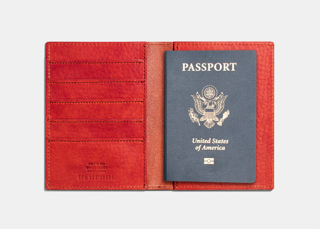 Shinola Passport Wallet