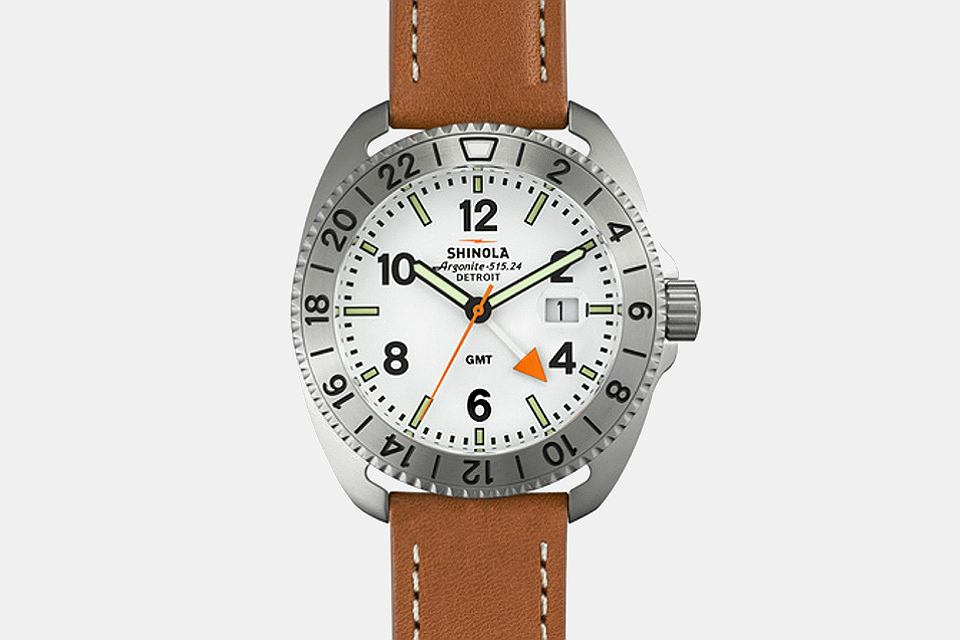 Shinola Rambler GMT Watch