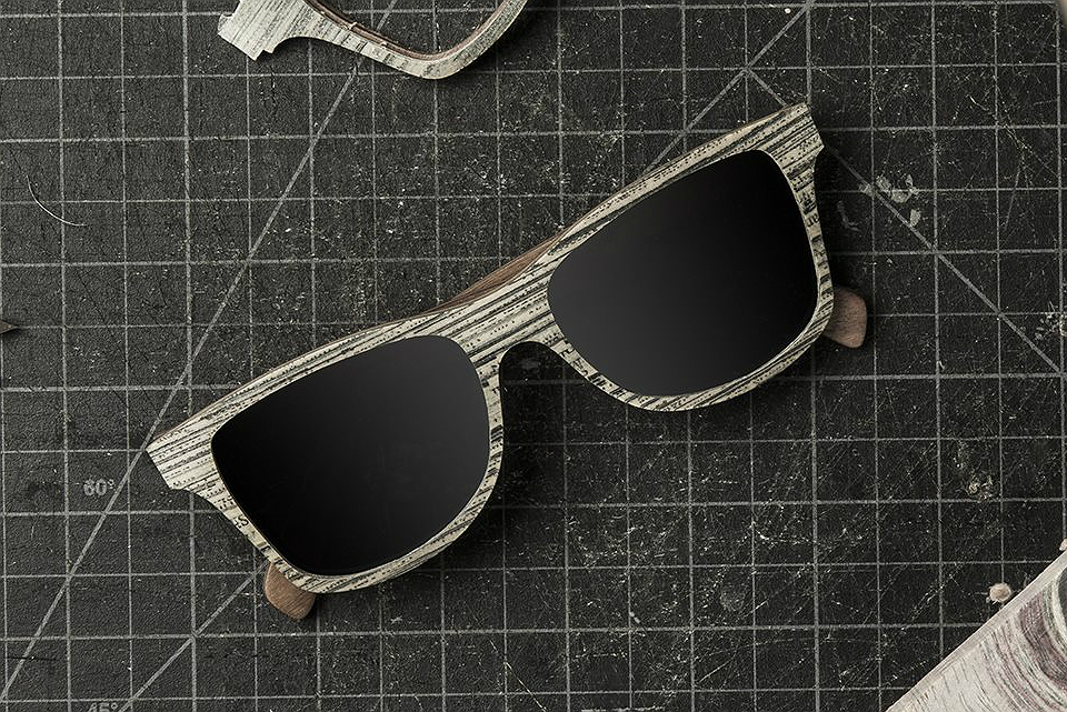 Shwood Newspaper Sunglasses Collection