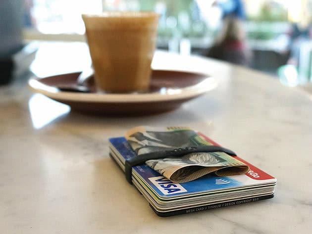 Silo Mesh Card Wallet