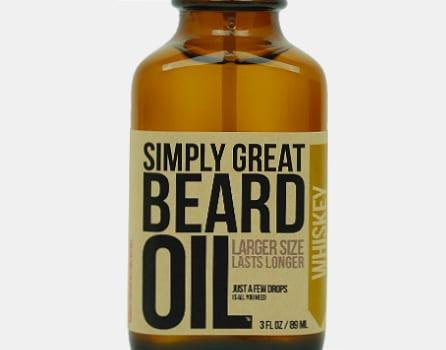 Simply Great Whiskey Beard Oil