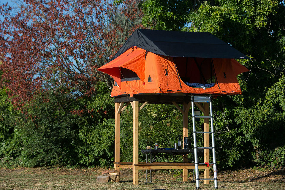 SkyCamp Elevated Tent