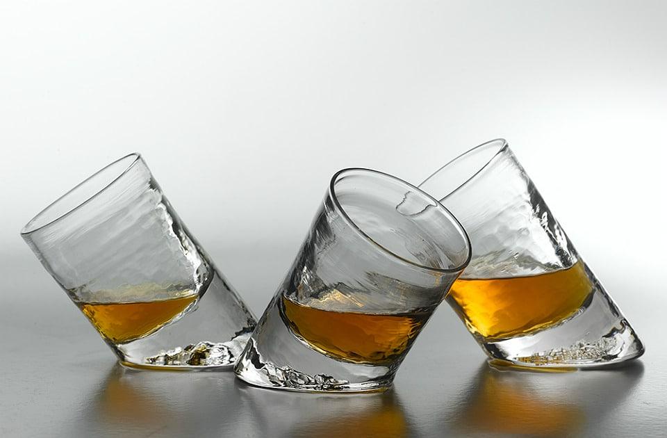 Slanted Bar Glasses