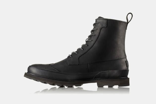 Sorel Madson Wingtip Waterproof Boots