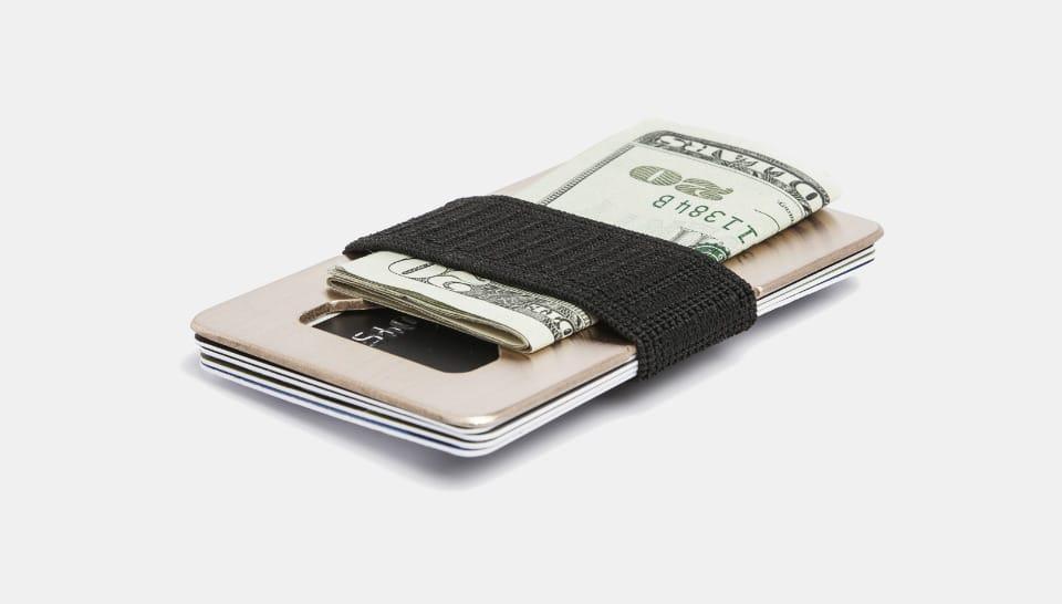 Spine Copper Wallet