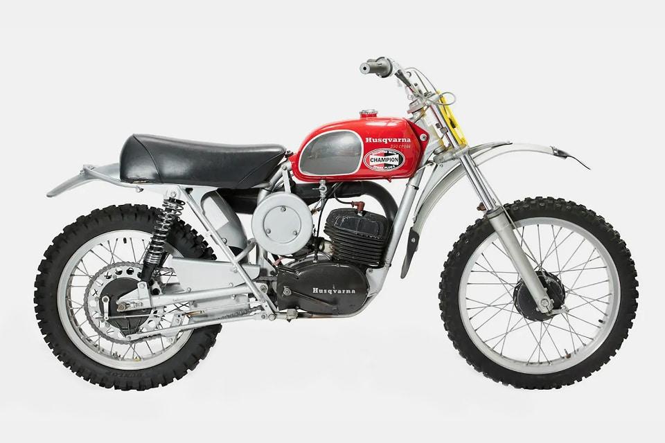 Steve McQueen 1971 Husqvarna 250 Cross Motorcycle