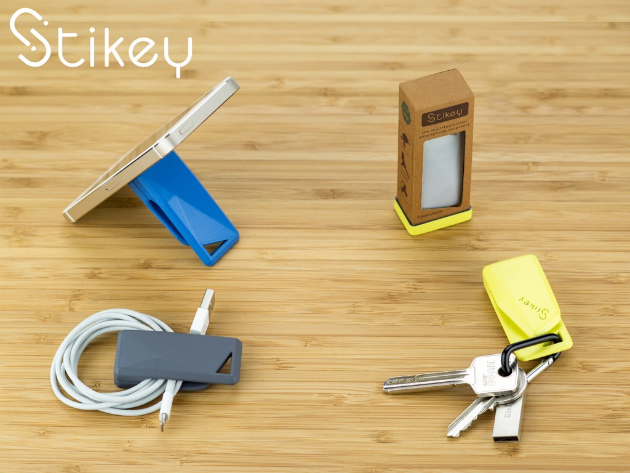 Stikey Portable Magnetic iPhone Stand