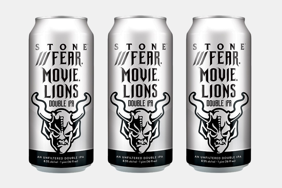 Stone ///Fear.Movie.Lions Double IPA