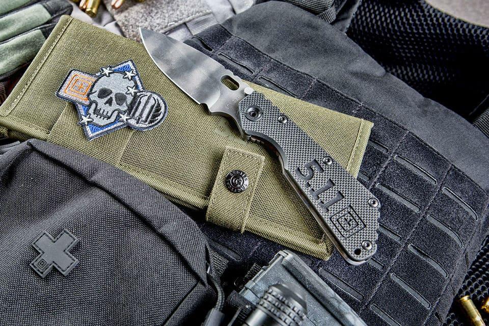 5.11 x Strider SMF Knife