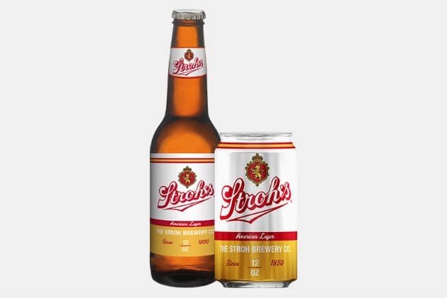Stroh's American Lager