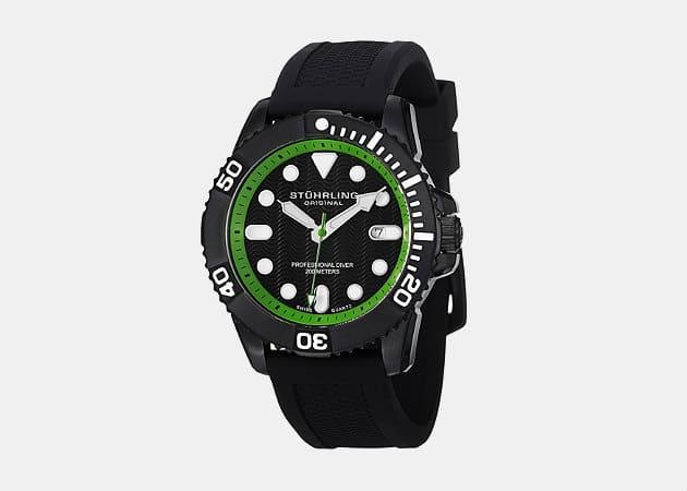 Stuhrling Original Men's Aquadiver Regatta Atlantis Sport Diver's Watch