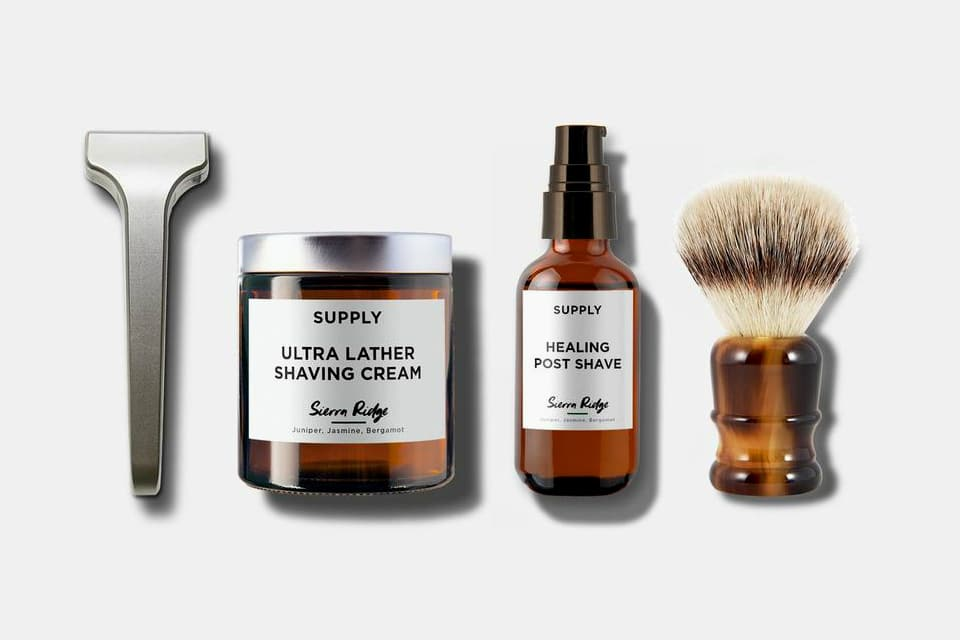 Supply Single Edge Shaving Kit
