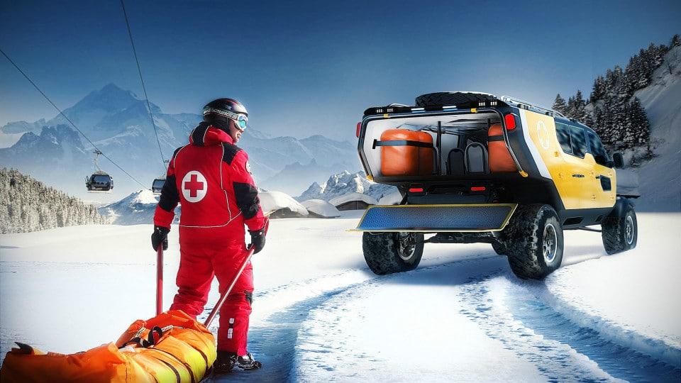 Surgo Mountain Rescue Vehicle