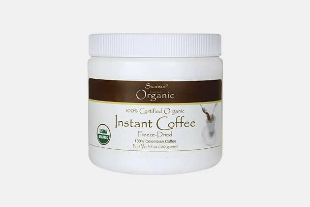Swanson Organic Instant Coffee