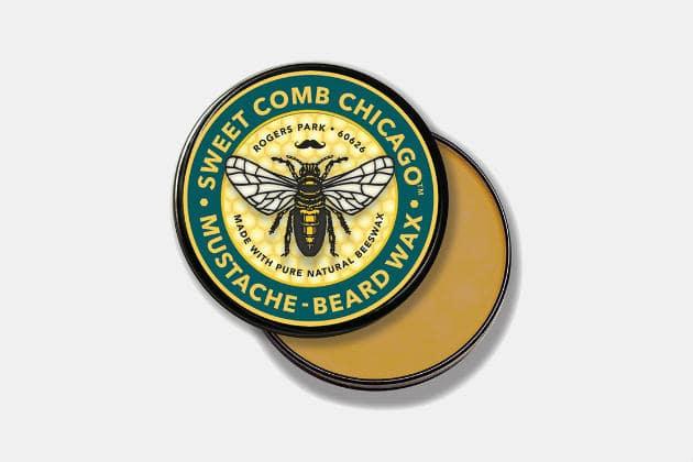 Sweet Comb Chicago Beard Styling Wax