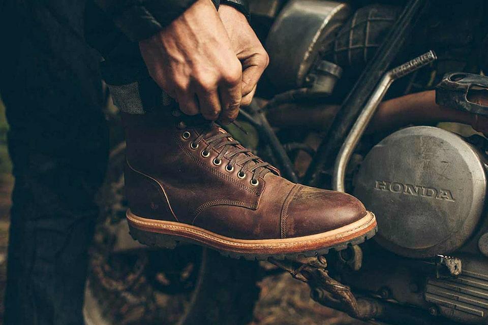 Taylor Stitch Cap Toe Moto Boot