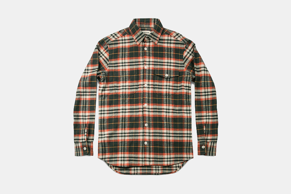 Taylor Stitch Plaid Crater Shirt