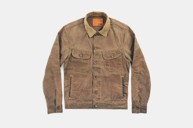 Taylor Stitch Long Haul Jacket in Waxed Canvas