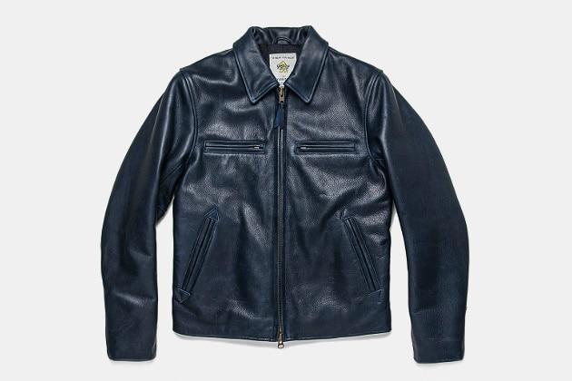 Taylor Stitch Leather Moto Jacket