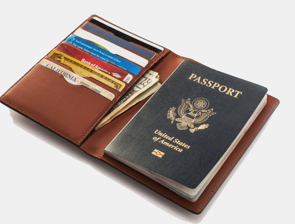 Taylor Stitch Passport Wallet