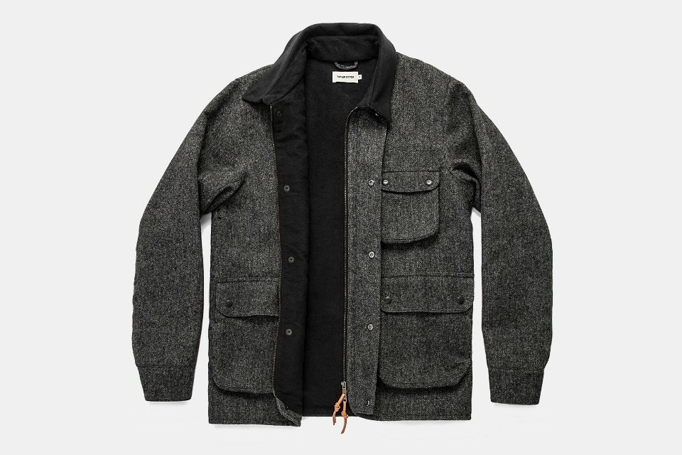 Taylor Stitch Rover Jacket In Waxed Wool