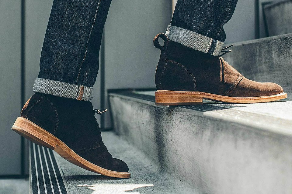Taylor Stitch Suede Chukka Boot