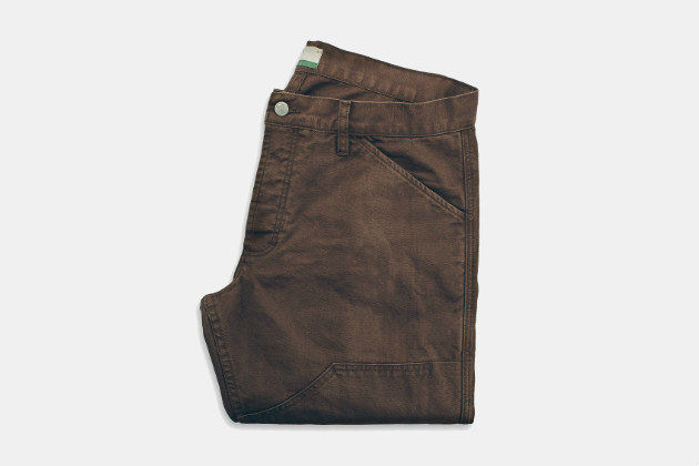 Taylor Stitch Chore Pants in Washed Timber