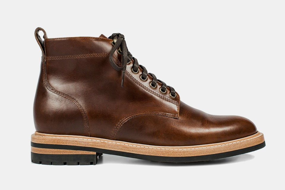 Taylor Stitch Trench Boots in Whiskey