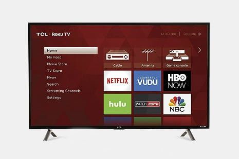 TCL 40-Inch 1080p Roku Smart LED TV