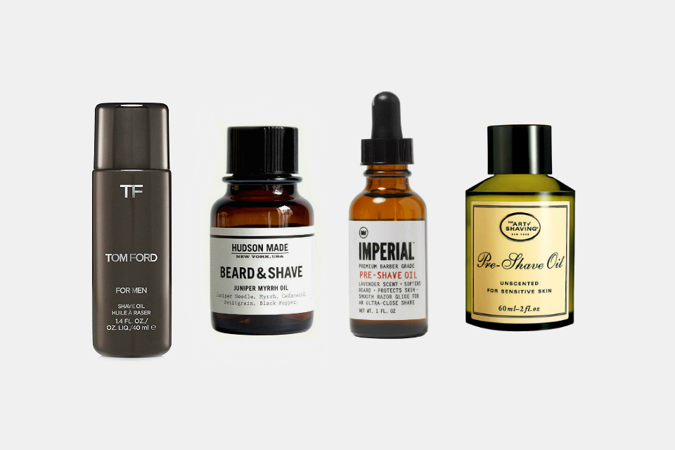 Best Pre-Shave Oils