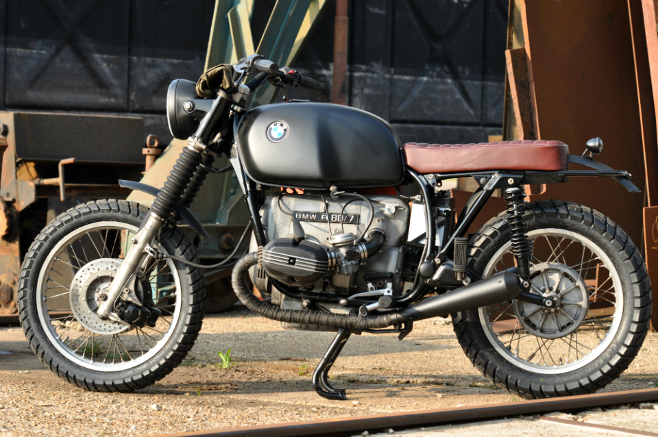 The Bomber Motorcycle - Left Hand Cycles