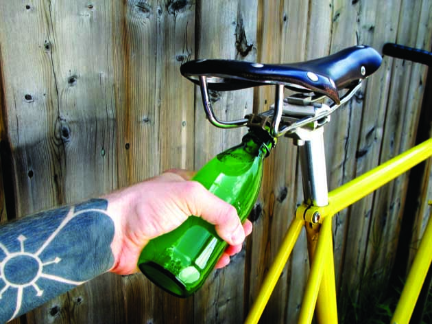 The Road Popper-Bicycle Bottle Opener