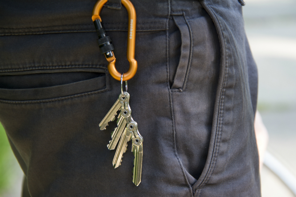 TIK: The World's Leanest Keychain