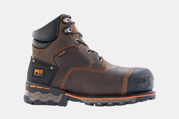 "Timberland Pro Boondock 6"" Comp Toe Work Boots"