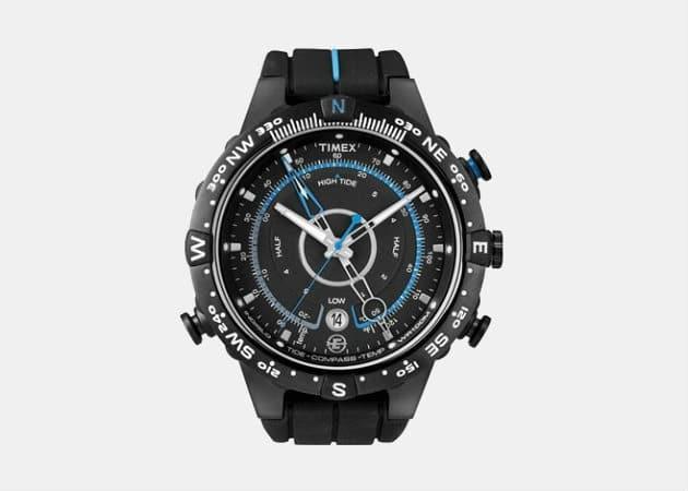 Timex Expedition Black Rubber Quartz Watch
