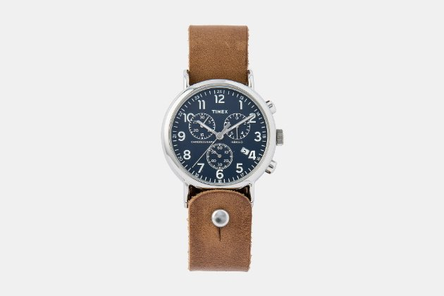 Timex x Form-Function-Form Horween Leather Chronograph