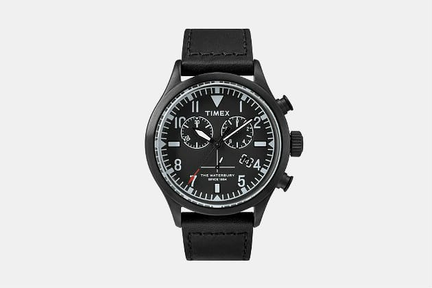 Timex x Todd Snyder Red Wing Chronograph