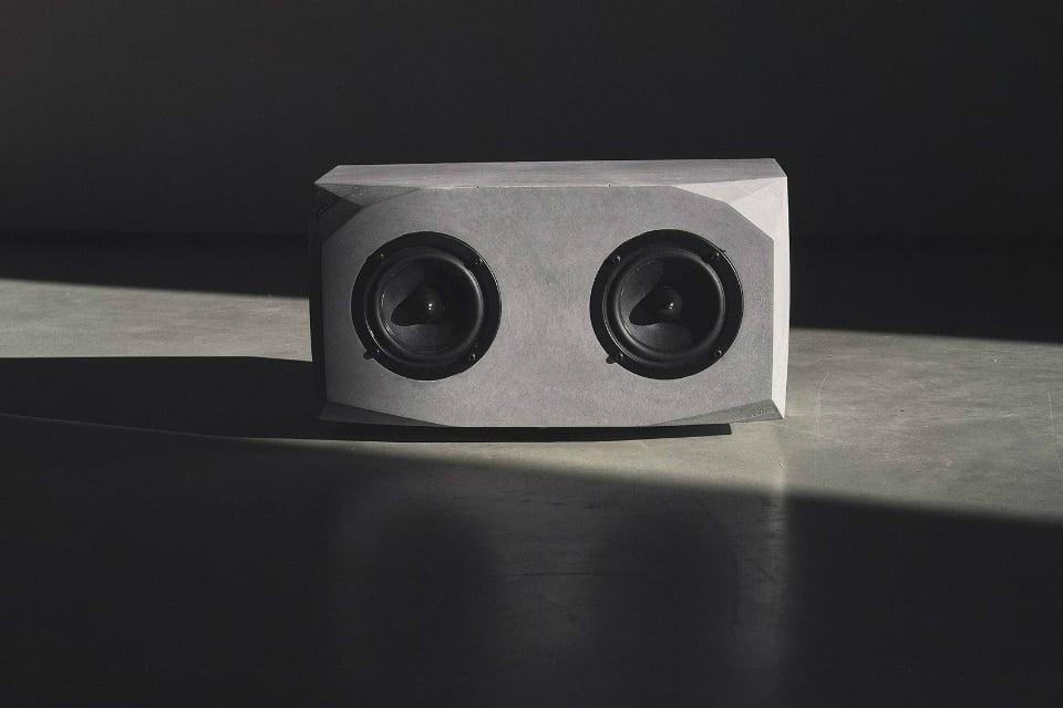 Titan Concrete Speaker