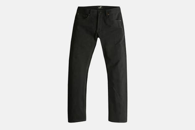 Todd Shelton Flat Black Jean