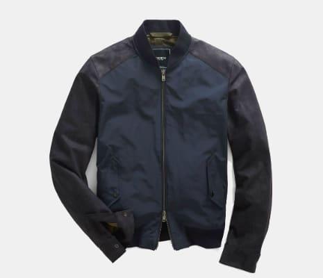 c5165e803d48e Todd Snyder + Champion Nylon Zip Bomber Jacket | GearMoose