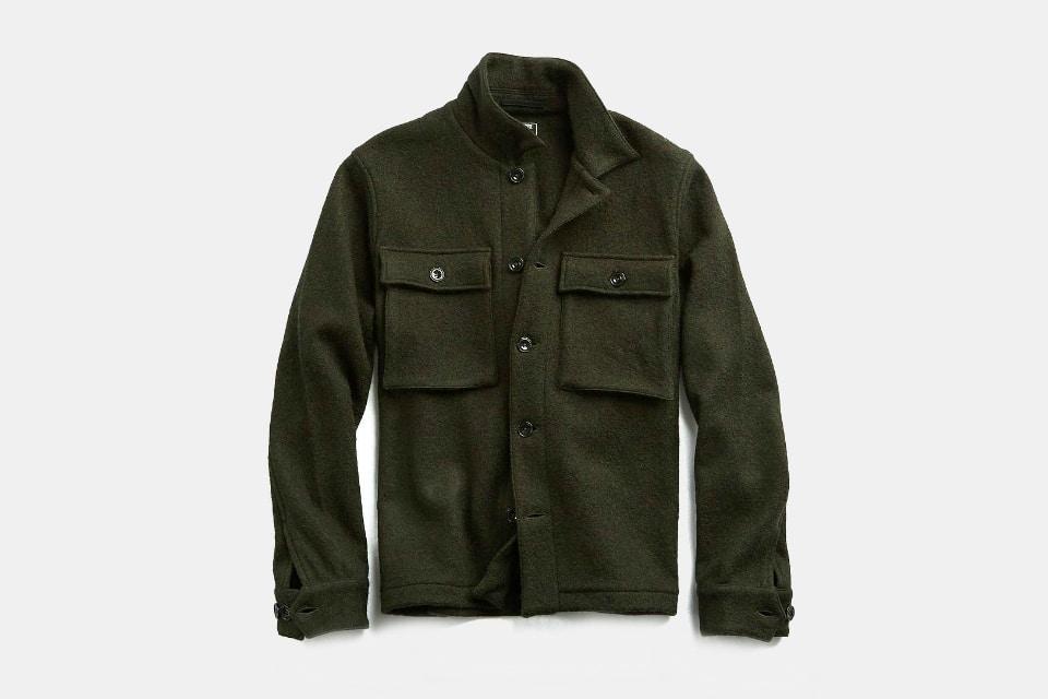 Todd Snyder Italian Boucle Shirt Jacket