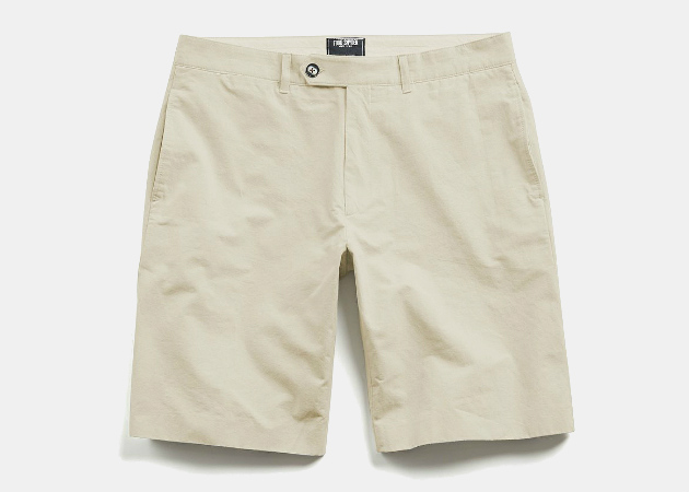 Todd Snyder Hudson Tab-Front Chino Shorts
