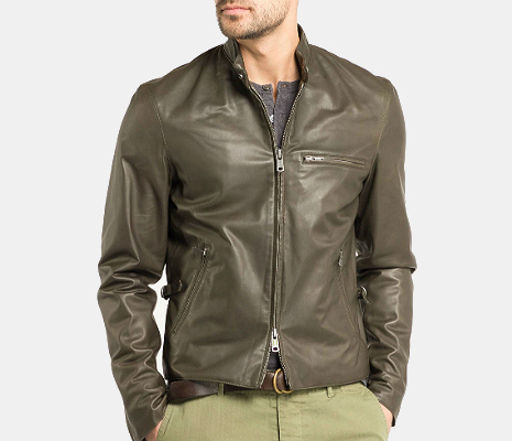 Todd Snyder Leather Jacket