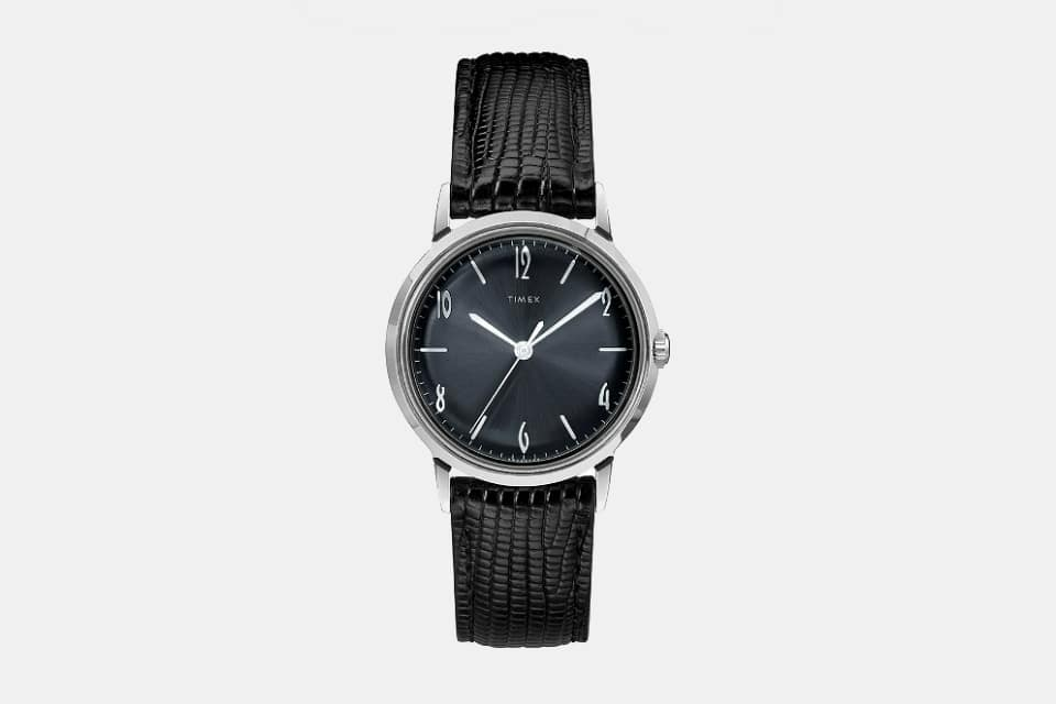 Todd Snyder x Timex Marlin Blackout Watch
